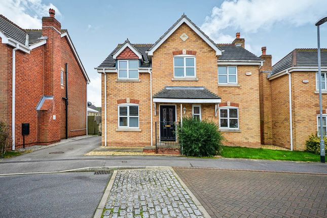 Thumbnail Detached house for sale in Riveraine Close, Sutton-In-Ashfield