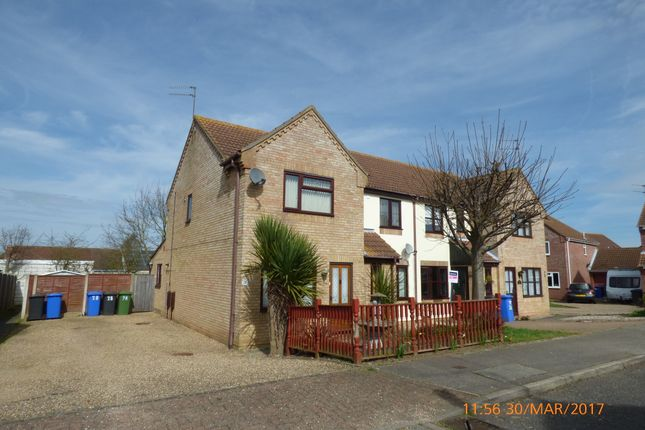 2 bed end terrace house to rent in Swift Close, Carlton Colville, Lowestoft NR33