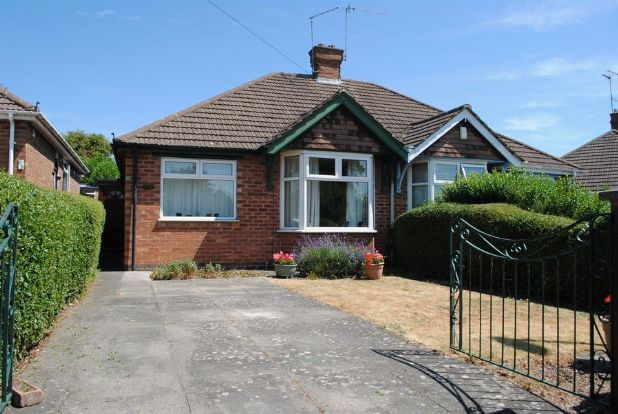 Thumbnail Semi-detached bungalow for sale in Knights Lane, Kingsthorpe, Northampton