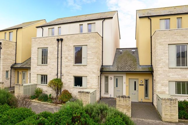 Thumbnail Terraced house for sale in Officers Field, Portland