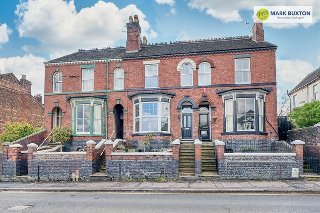 Thumbnail Town house for sale in Grove Road, Heron Cross, Stoke-On-Trent