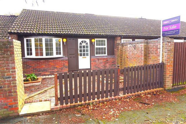 Thumbnail Terraced bungalow for sale in Hills Close, Great Linford