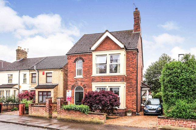 Thumbnail Detached house for sale in Glebe Road, Peterborough