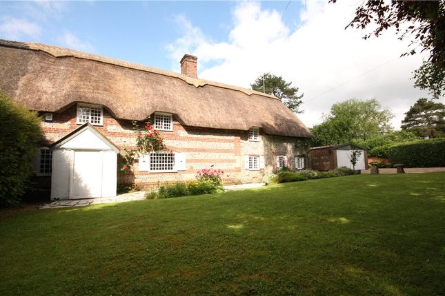 Thumbnail Semi-detached house for sale in Tarrant Launceston, Blandford Forum, Dorset