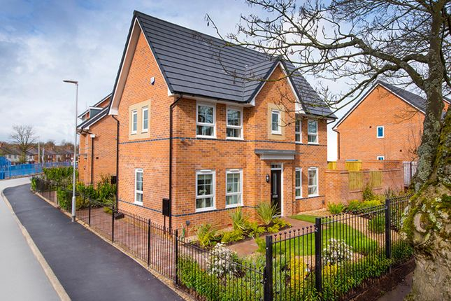 "Thumbnail Semi-detached house for sale in ""Morpeth II"" at Birch Road, Walkden, Manchester"