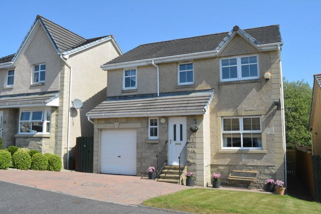 Thumbnail 5 bed detached house for sale in Carrongrange Gardens, Stenhousemuir, Falkirk