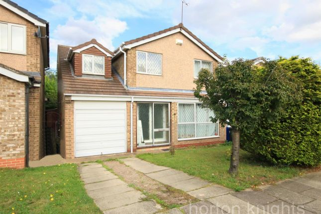Thumbnail 3 bed detached house for sale in Kelsey Gardens, Bessacarr, Doncaster