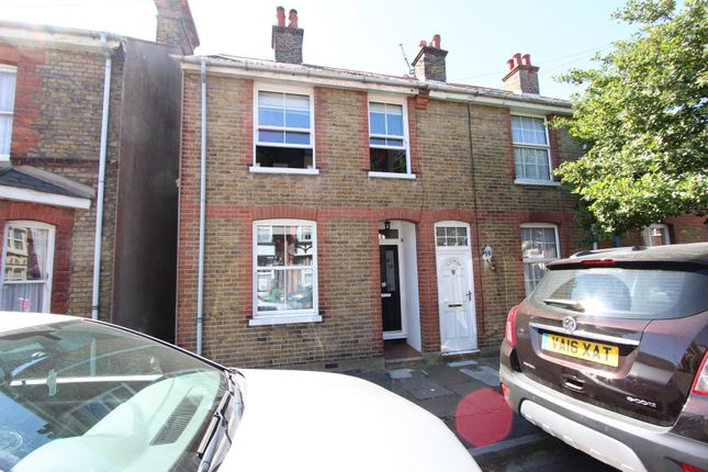 Thumbnail End terrace house for sale in Middle Deal Road, Deal