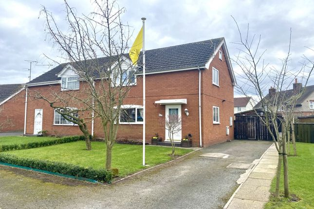 Thumbnail Semi-detached house for sale in Sandfield Court, Wrenbury, Nantwich