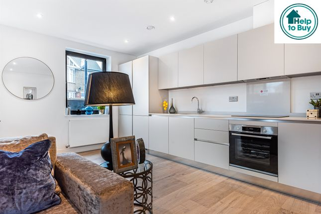 Thumbnail Flat for sale in Curzon Crescent, Willesden, London