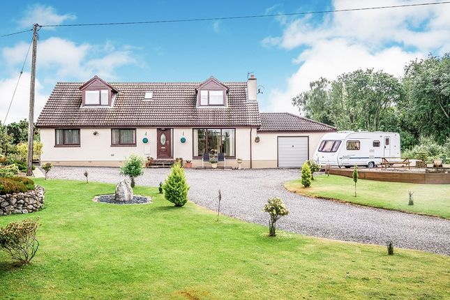 Thumbnail 5 bed detached house for sale in Drynie Park, Muir Of Ord, Ross-Shire