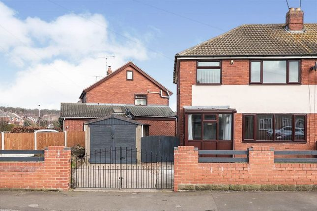 Thumbnail 3 bed semi-detached house to rent in Rackford Road, North Anston, Sheffield