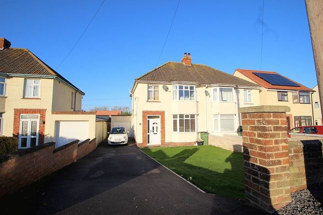 3 bed semi-detached house for sale in Wells Road, Glastonbury