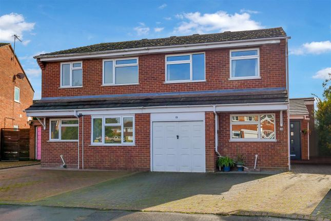 Semi-detached house for sale in The Meadows, Bidford-On-Avon, Alcester