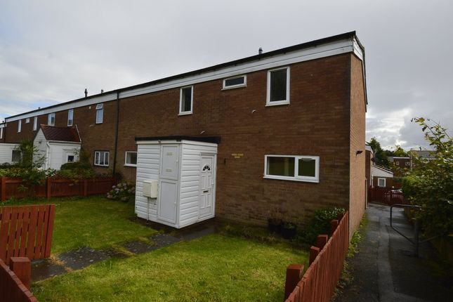 Thumbnail End terrace house to rent in Wyvern, Madeley, Telford