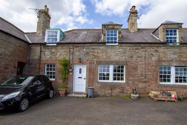 Thumbnail Cottage for sale in Mains Farm Cottages, Chirnside, Berwickshire