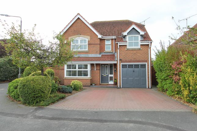 Thumbnail Detached house for sale in Hewers Holt, Barlborough, Chesterfield