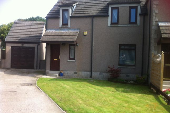 Thumbnail Semi-detached house to rent in Broaddykes Avenue, Kingswells