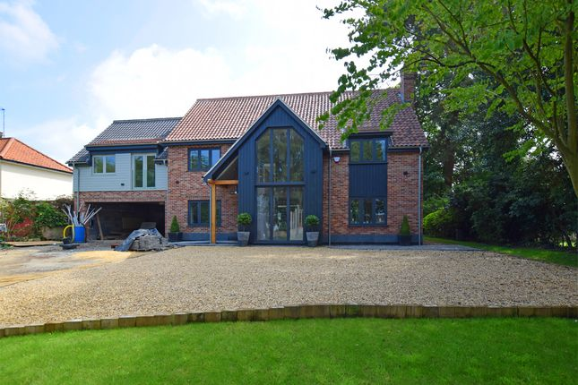 Thumbnail Detached house for sale in Nursery Lane, South Wootton, King's Lynn