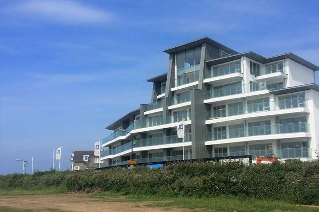 Thumbnail Flat for sale in Lusty Glaze Road, Newquay