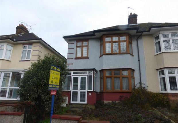 Thumbnail Semi-detached house for sale in Boston Gardens, Brentford, Middlesex