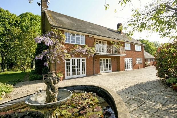 7 bed detached house for sale in Clayford, Wimborne