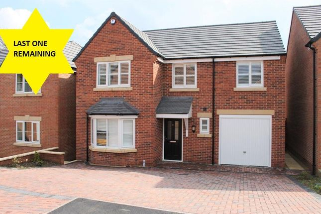 Thumbnail Detached house for sale in Arella Fields Close, Stanley Common, Ilkeston, Derbyshire