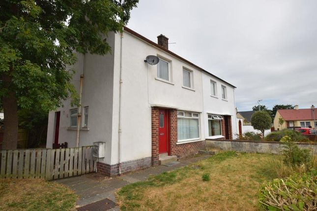 Thumbnail Semi-detached house for sale in Whiteside Road, Prestwick, South Ayrshire