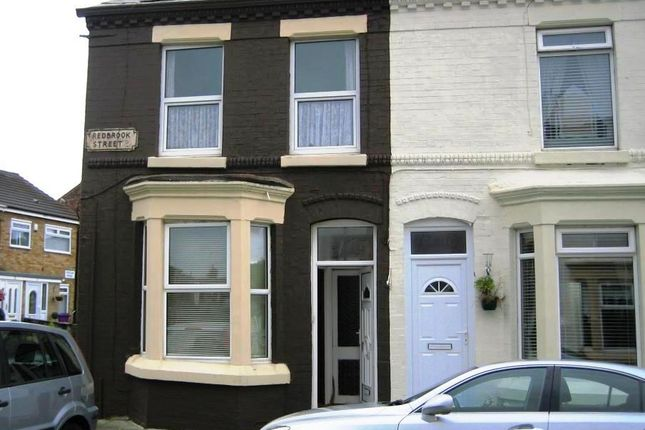 Thumbnail Terraced house to rent in Redbrook Street, Anfield