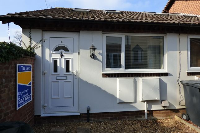 1 bed end terrace house to rent in Bicton Heath, Shrewsbury SY3