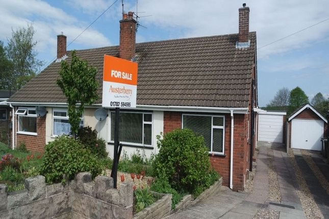 Thumbnail Semi-detached bungalow for sale in Ansmede Grove, Blurton, Stoke-On-Trent
