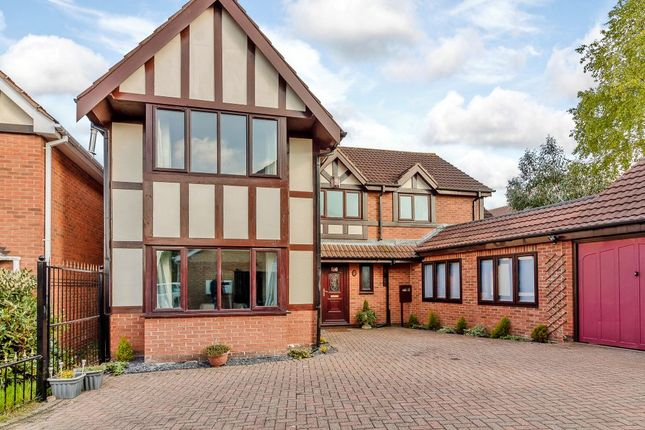 Thumbnail Detached house for sale in Stanmore Close, Nottingham, Nottinghamshire