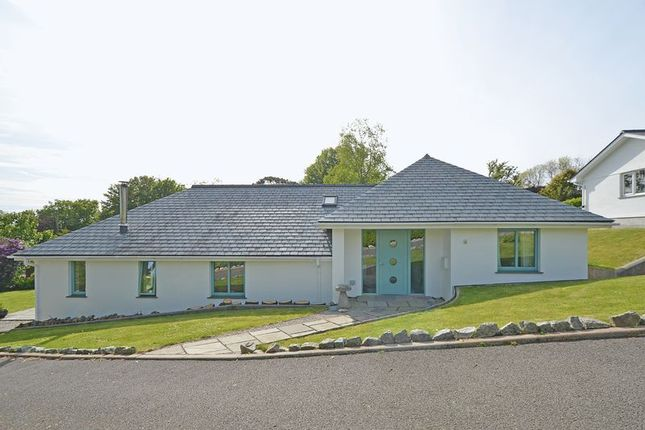 Thumbnail Detached bungalow for sale in Silver Hill, Perranwell Station, Truro