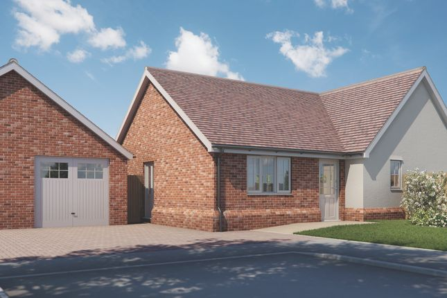 Thumbnail Bungalow for sale in Plot 7 Old Stables, Walton Road, Kirby-Le-Soken