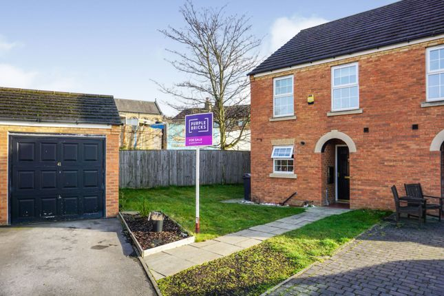 Thumbnail Semi-detached house for sale in Carriage Way, Heckmondwike