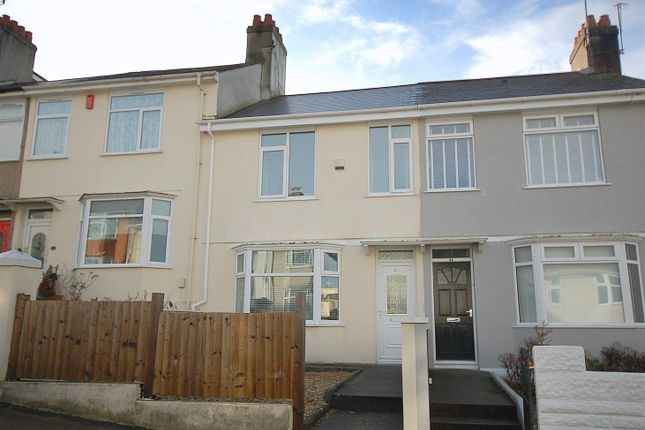 Thumbnail Terraced house for sale in Ganges Road, Stoke, Plymouth