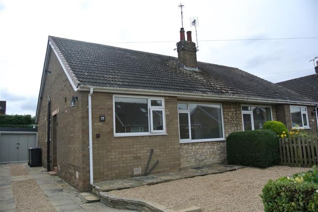 Thumbnail Semi-detached bungalow to rent in Heathfield Lane, Boston Spa, Wetherby