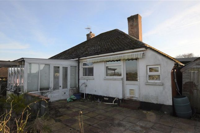 Thumbnail Detached bungalow for sale in Barnfield, Crediton, Devon