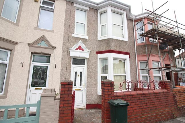 Thumbnail Terraced house to rent in Oswald Road, Newport, Gwent