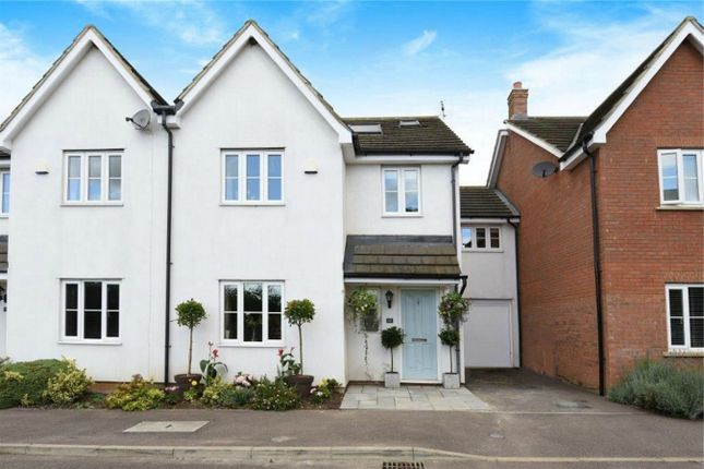 Thumbnail Semi-detached house for sale in Beanfield Close, Riseley, Bedford