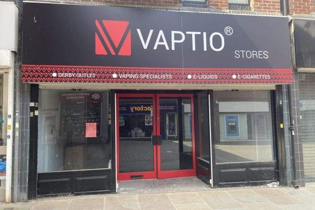 Thumbnail Retail premises to let in 28 East Street, Derby, Derby