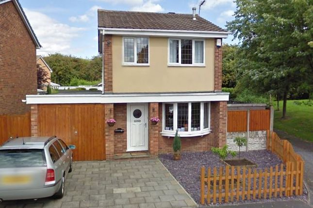 Thumbnail Detached house to rent in Dove Close, Swadlincote