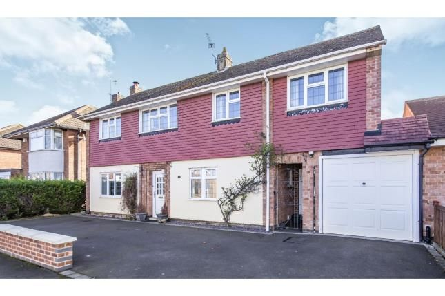 Thumbnail Detached house for sale in Foxhunter Drive, Oadby, Leicester
