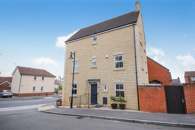 Thumbnail Semi-detached house to rent in Tippett Avenue, Swindon