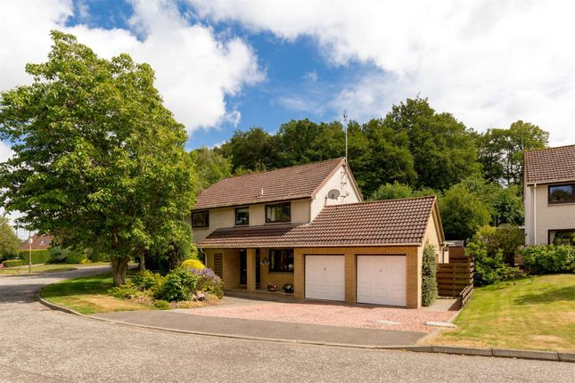 Thumbnail Detached house for sale in Ancrum Bank, Dalkeith, Midlothian