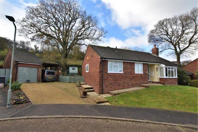 Thumbnail Detached bungalow for sale in Linhay Close, Honiton, Devon