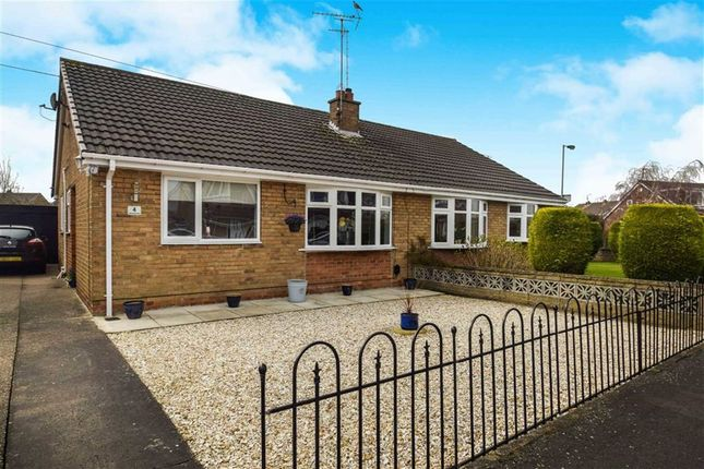 Thumbnail Semi-detached bungalow for sale in Oxenhope Road, Beverley High Road, Hull