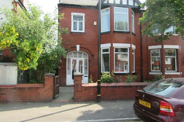 Thumbnail Semi-detached house for sale in Auburn Road, Old Trafford, Manchester