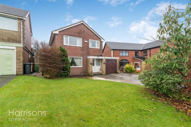 Thumbnail Detached house for sale in Birchfield Grove, Ladybridge, Bolton, Lancashire.