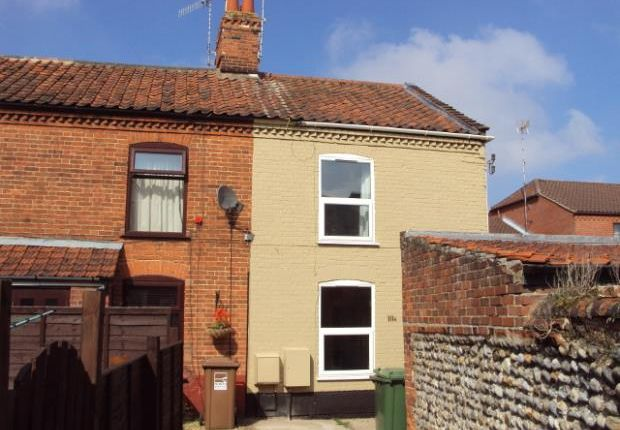 Thumbnail End terrace house to rent in Cromer Road, North Walsham